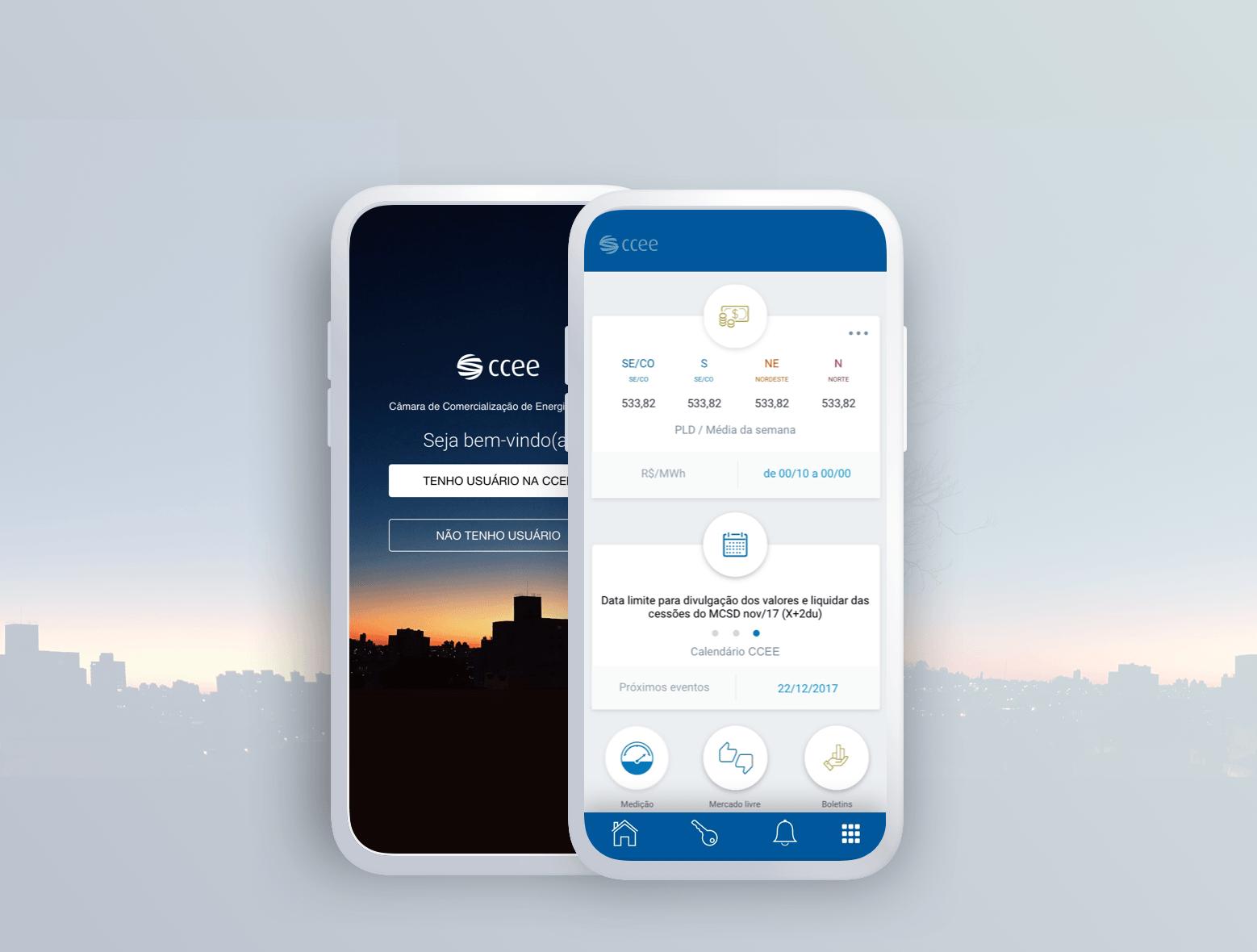 Energy / Mobile app