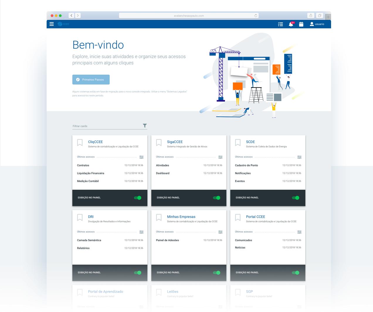 CCEE Integrated Platform 1